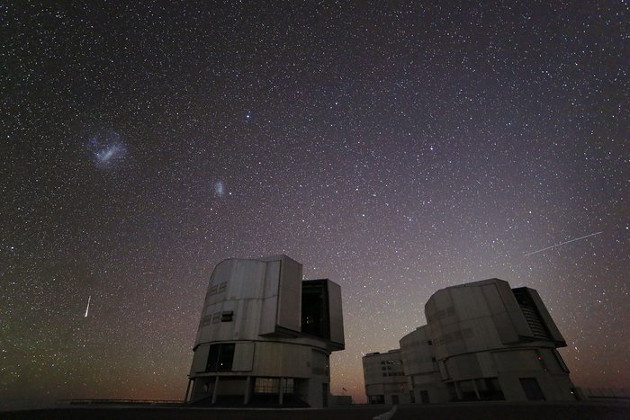 The second installment of Chile Chill, a type of ESOcast designed to offer a calm experience of the Chilean night sky, depicts the December 2012 Geminid meteor shower as it makes a spectacular appearance over ESO's Paranal Observatory in Chile.