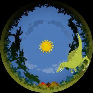 Explorador de dinosaurios @ 13:00 y 18:00 h
