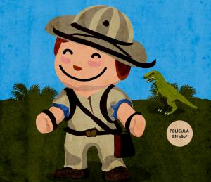 Explorador de dinosaurios. ¡Estreno!