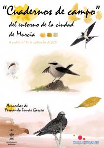 """Exposición """"Cuaderno de campo del entorno de la ciudad de Murcia"""